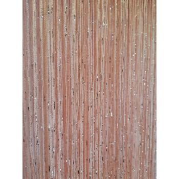 Шторы нити Дождик №209 светло-персиковый 3м*2.8м