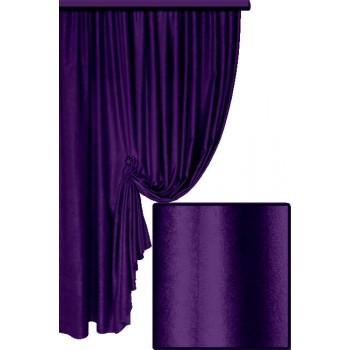 Софт велюр фиолетовый №25