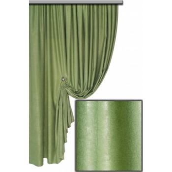 Софт велюр светло-зелено-оливковый №14