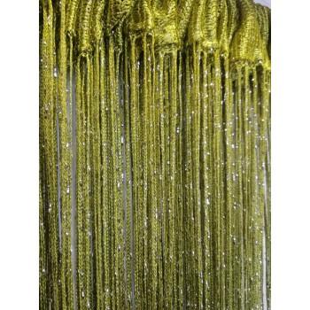 Шторы нити Дождик №19 оливковый 3м*2.8м