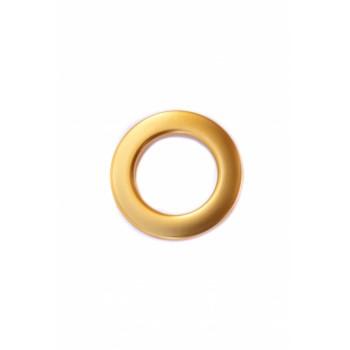 Люверс матовое золото диаметр 3.5 см