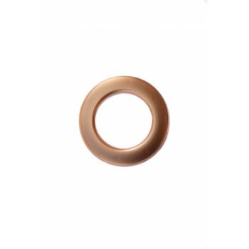 Люверс матовая бронза диаметр 3.5 см