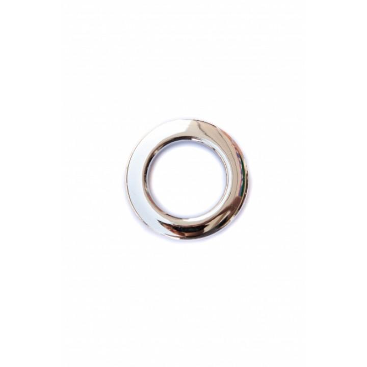 Люверсы глянцевое серебро диаметр 3,5 см