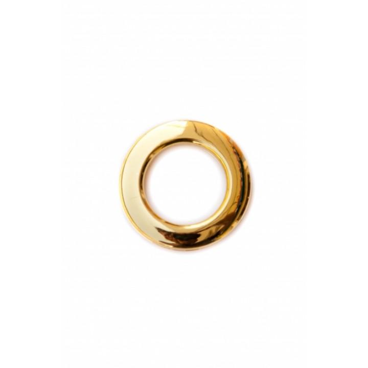 Люверсы глянцевое золото диаметр 3.5 см