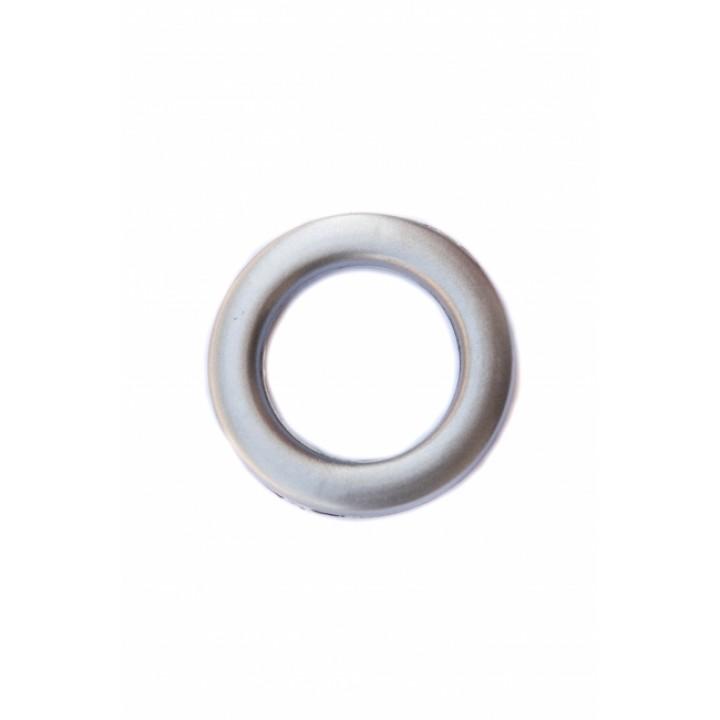 Люверсы матовое серебро диаметр 4.5 см