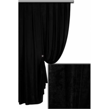 Софт велюр черный №37