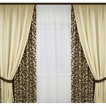 Пошив штор на тесьму 6 см шириной