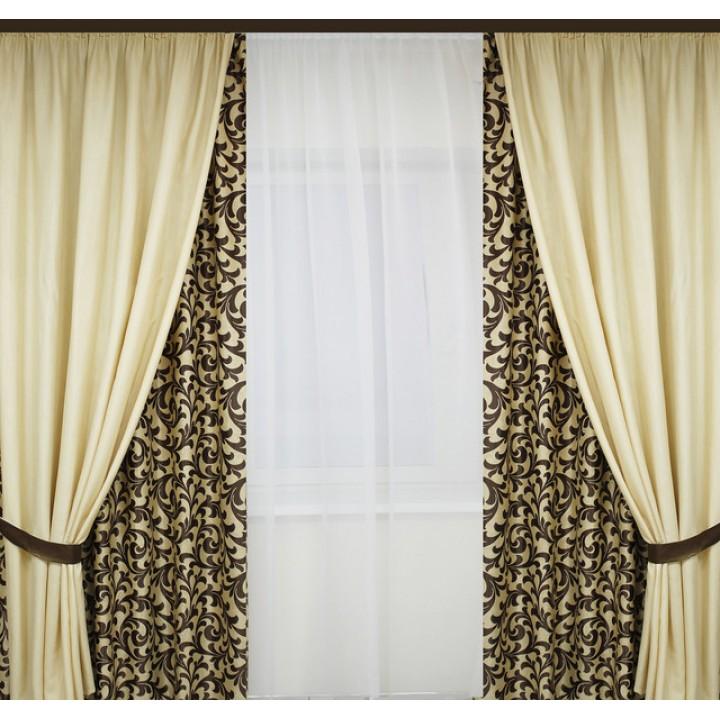 Пошив штор или тюли на тесьму 6 см шириной