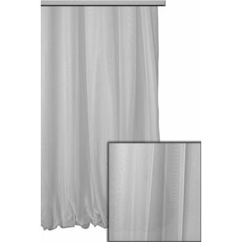 Тюль Гипюр французский светло-серый №6000