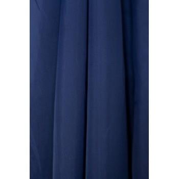 Тюль шифон темно-синий №А30