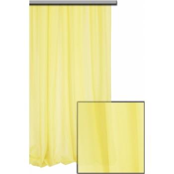 Шифон бледно - желтый №С20