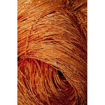 Шторы нити Дождик №03 оранжевый 3м*2.8 м