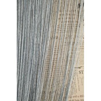 Шторы нити Дождик №07 светло-серый 3м*2.8м