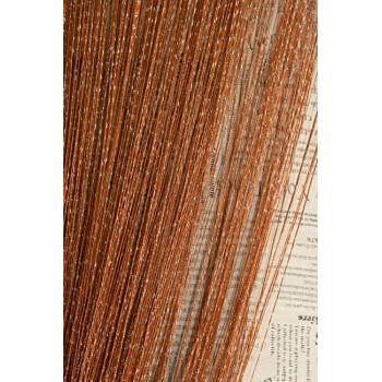 Шторы нити Дождик №10 коричневый 3м*2.8м