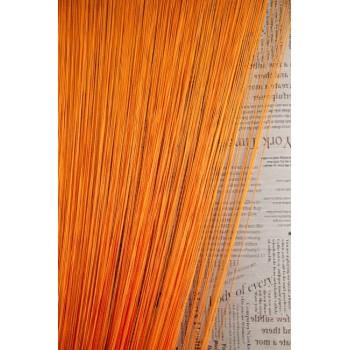 Кисея однотонная №03 оранжевый