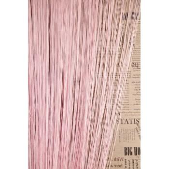 Кисея однотонная №05 светло-розовый