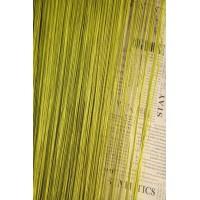 Однотонные шторы нити №19 оливковый 3м*2.8м