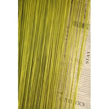 Кисея однотонная №19 оливковый