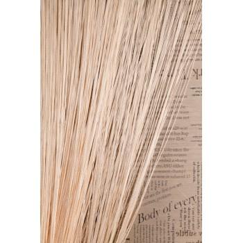 Однотонные шторы нити №130 кремовый 3м*2.8м