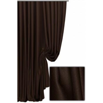 Шторы Блекаут люкс шоколадный 199