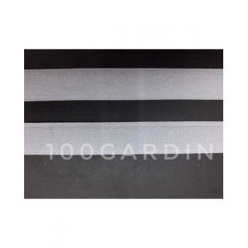 Лента липучка пришивная белая 20 мм