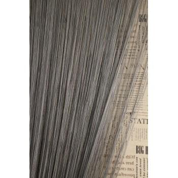 Однотонные шторы нити №207 серый графит 3м*2.8м